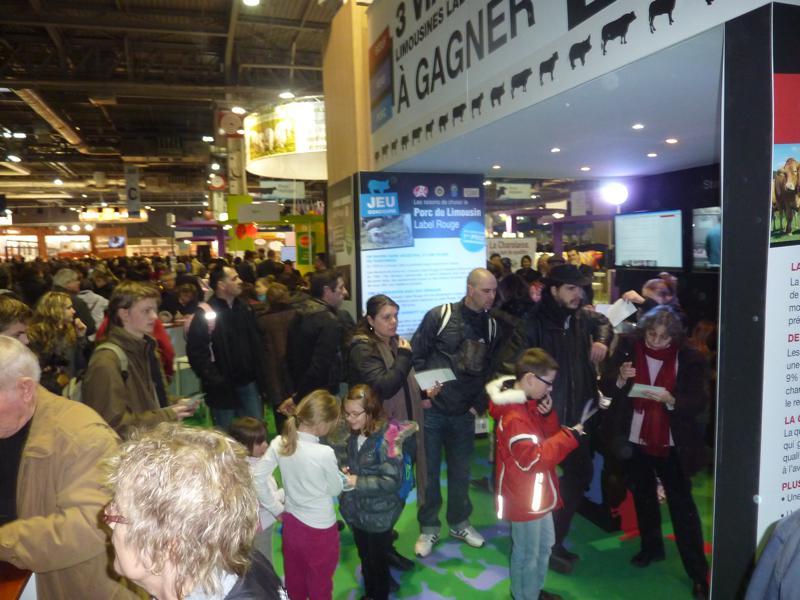 Gagnez un an de viandes limousines label rouge label for Porte de versailles salon agriculture